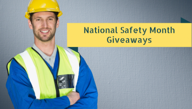 National Safety MonthGiveaways