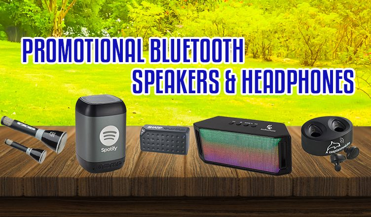 Promotional Bluetooth Speakers and Headphones