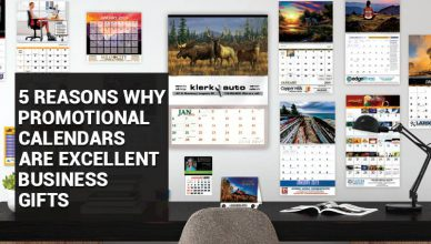 5 Reasons Why Promotional Calendars Are Excellent Business Gifts