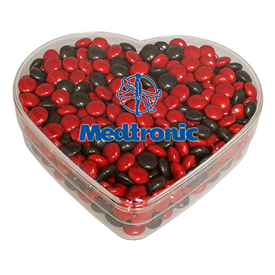 Color Chocolates Heart Box
