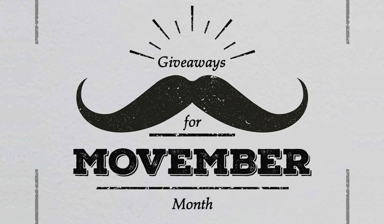 Giveaways For Movember Month