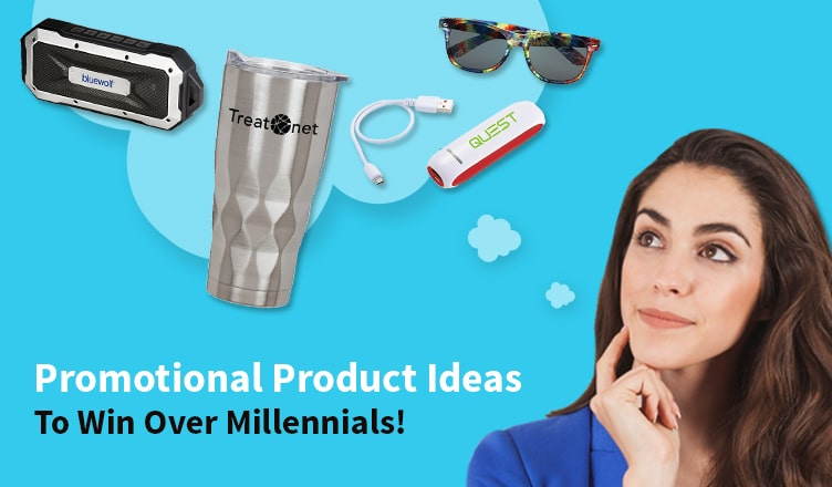 Promotional Product Ideas To Win Over Millennials