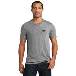 District Made® Mens Perfect Tri® V-Neck Tee (Color)