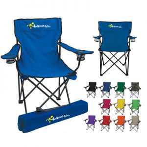 Folding Chair with Carrying Case