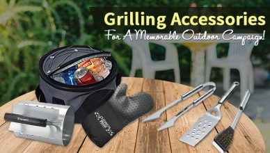 Grilling Accessories For A Memorable Outdoor Campaign
