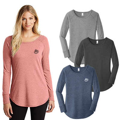 District Made® Ladies Perfect Tri ® Long Sleeve
