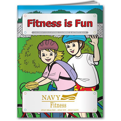 Fitness is Fun Coloring Book