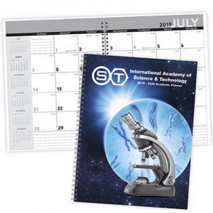 Promotional Academic Year Desk Planner with Custom Cover Gallery