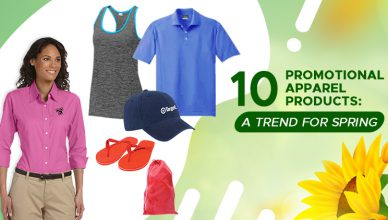 Promotional Apparel Products for Spring