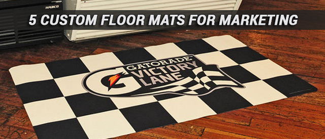 5 Custom Floor Mats For Marketing