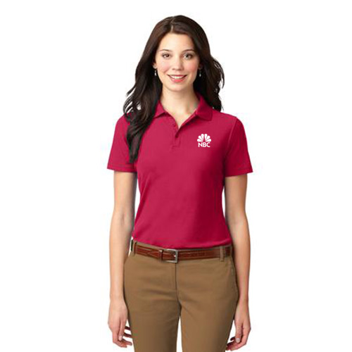 Port Authority® Ladies Stain-Resistant Polo Red