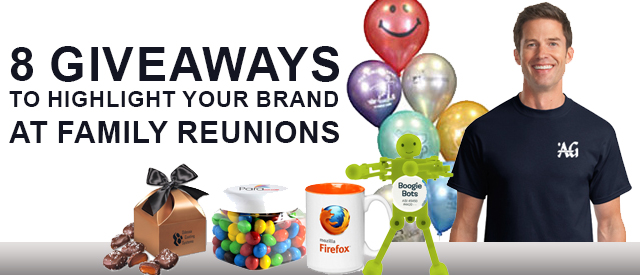 8 Giveaways To Highlight Your Brand At Family Reunions