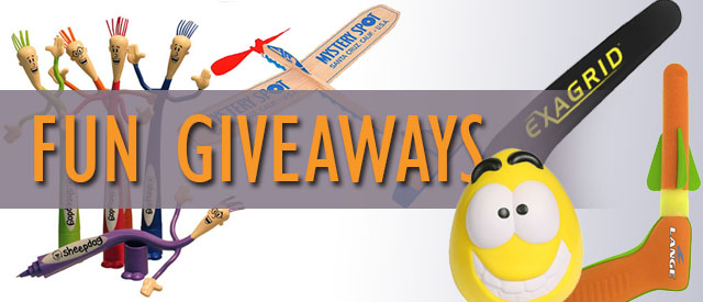 10 Fun Giveaways From Promo Direct