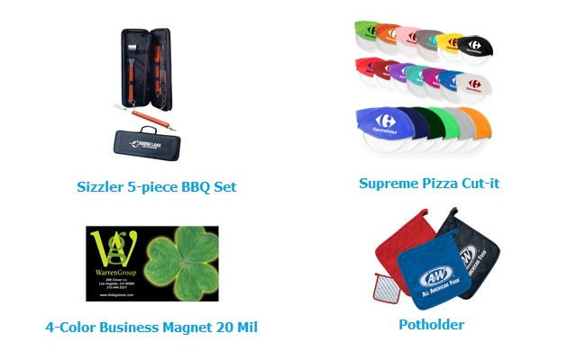 kitchen promotional giveaways