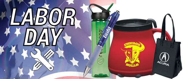 promotinal items for labor day