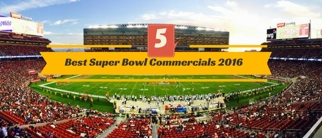 Top 5 Super Bowl Commercials 2016