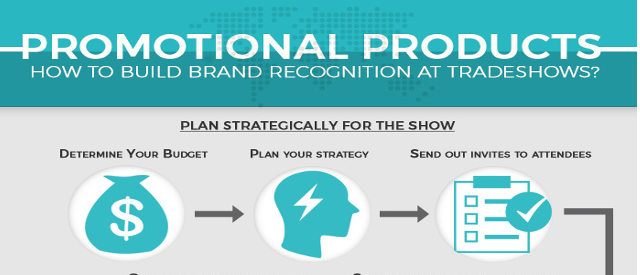 Building Brand Recognition at Tradeshows – Infographic