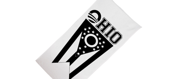 promotional beach towel
