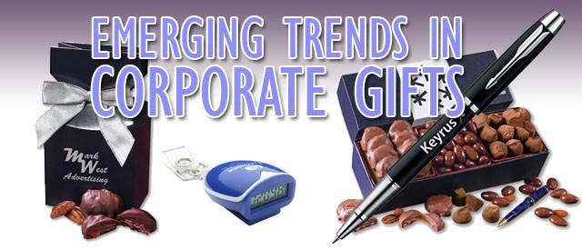 emerging trends in corporate gifts