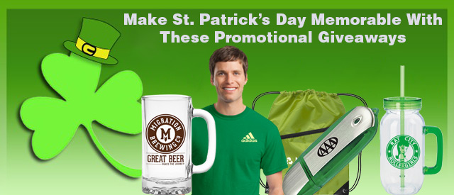 St. Patrick days promotional product