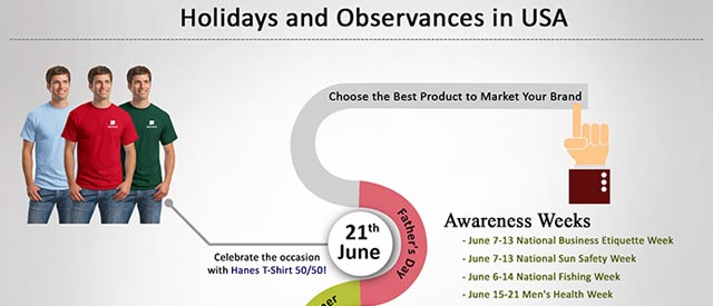 Holidays and Observances in USA, June 2015