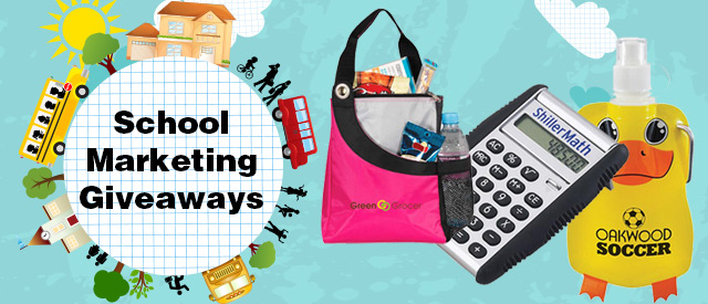 6 Back to School Marketing Giveaways