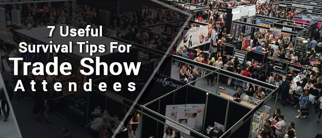 tips for trade show visitors